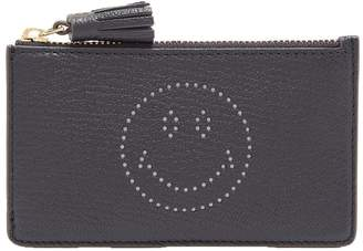 Anya Hindmarch Smiley leather cardholder