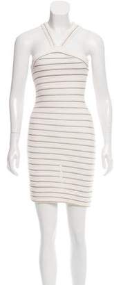 Alaia Sleeveless Bodycon Dress