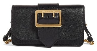 Burberry Mini Buckle Calfskin Leather Bag - Black $695 thestylecure.com