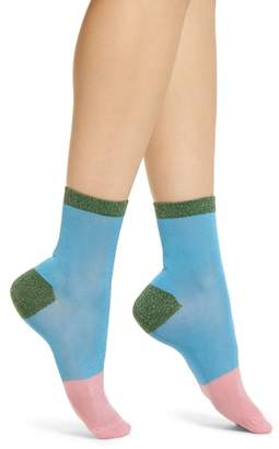 HYSTERIA BY HAPPY SOCKS Liza Sparkle Ankle Socks
