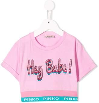 Pinko Kids Hey Babe T-shirt