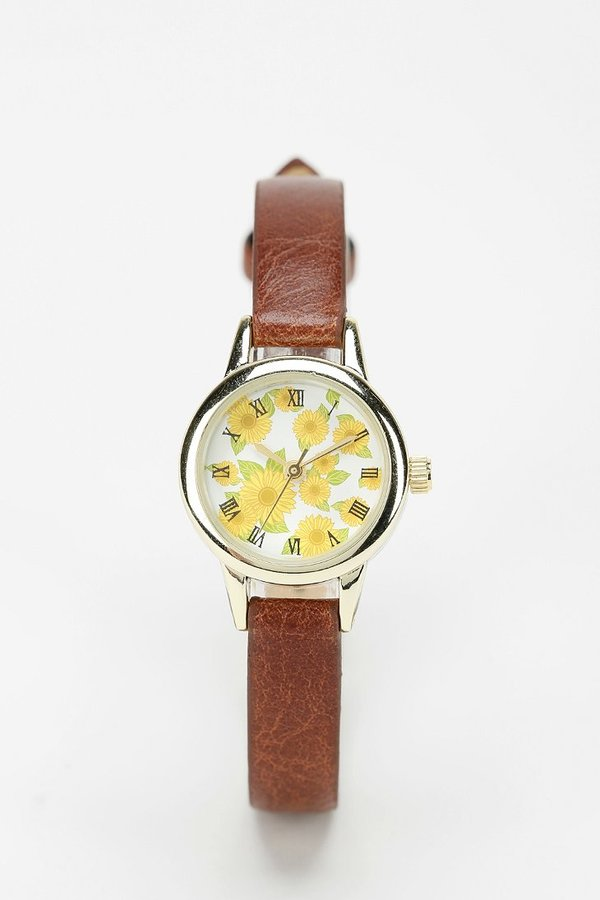 UO Lovely Sunflowers Watch
