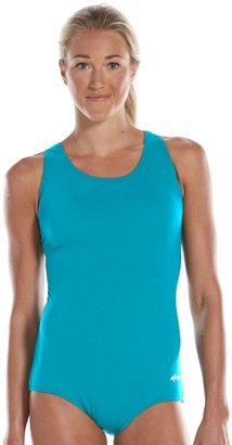 19e10de8c33 Women's Dolfin Aquashape Conservative One-Piece Lap Swimsuit