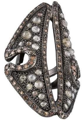 Loree Rodkin 18K Diamond Cocktail Ring