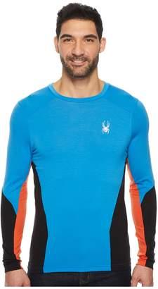 Spyder Huron Crew Base Layer Top Men's Long Sleeve Pullover