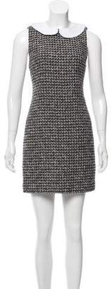 Alice + Olivia Tweed Shift Dress