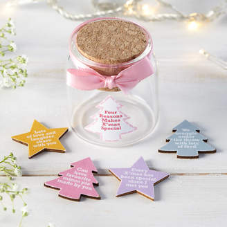 Munchkin Creative Personalised Christmas Tokens In Bottle