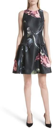 Ted Baker Sarahe Floral Fit & Flare Dress