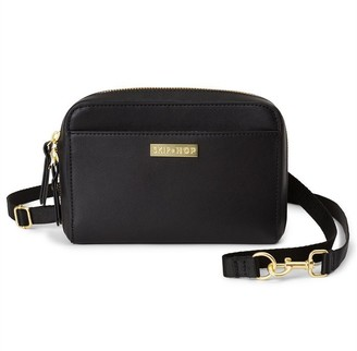 Skip Hop Greenwich Convertible Diaper Bag Wristlet Black