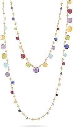 Marco Bicego Paradise Gemstone Double Strand Necklace