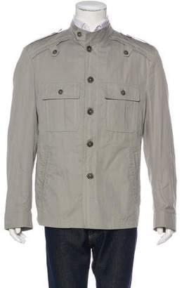 Dolce & Gabbana Chambray-Layered Field jacket