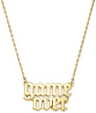 Bing Bang Nyc Game Over Necklace, 16 - 100% Exclusive