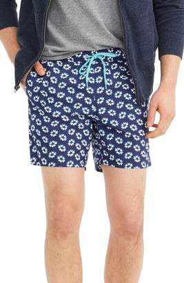 J.Crew J. CREW Floral Print Swim Trunks