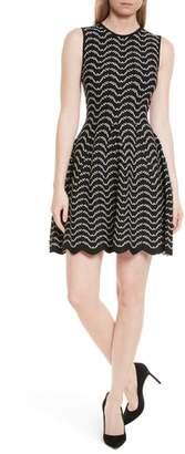 Ted Baker Bryena Jacquard Fit & Flare Dress
