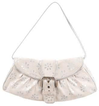 Celine Floral Print Shoulder Bag