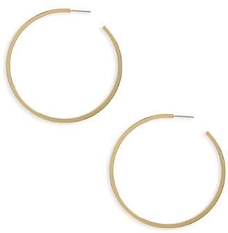 Halogen Large J-Hoop Earrings