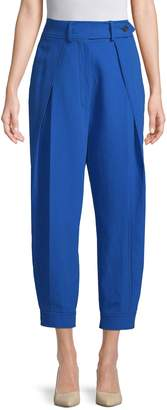 Sportmax Women's Pleated Button Trousers