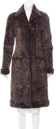 Chanel Long Fur Coat
