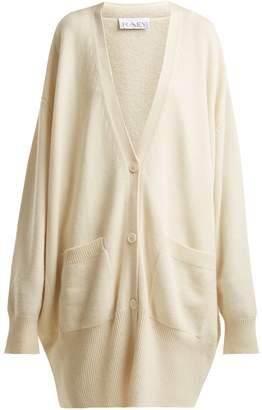 Raey Long-line cashmere grandad cardigan
