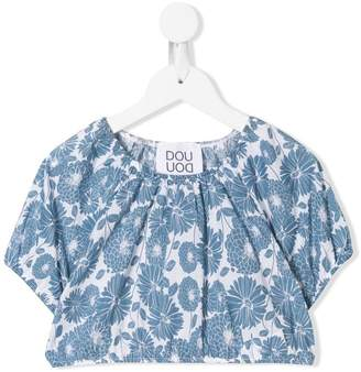 Douuod Kids all-over print blouse