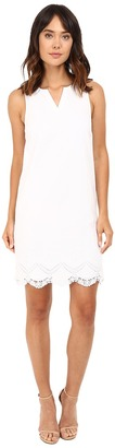 kensie Crochet Embroidered Cotton Dress KS7K7678 $89 thestylecure.com
