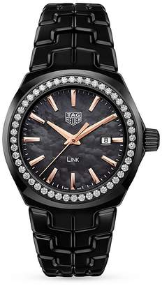 Tag Heuer Link Lady Diamond Watch, 32mm