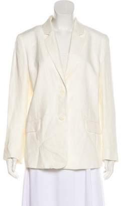 Protagonist Linen Notch-Lapel Jacket w/ Tags