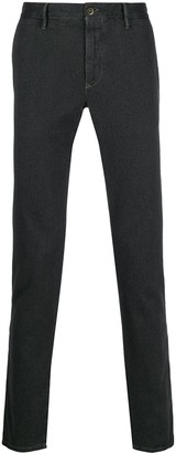 Incotex straight leg denim jeans