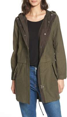 Levi's Cotton Hooded Fishtail Coat