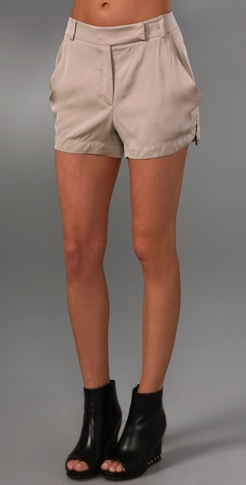 Robert Rodriguez Draped Shorts