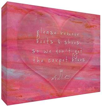 Camilla And Marc Feel Good Art Gallery Wrapped Box Canvas with Solid Front Panel (40 x 30 x 4 cm, Medium)
