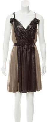 3.1 Phillip Lim Pleated Silk Dress