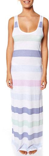 Just Add Sugar Pastel Stripe Maxi Dress