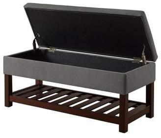 Fine End Of Bed Storage Bench Shopstyle Dailytribune Chair Design For Home Dailytribuneorg