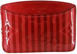 Louis Vuitton Patent leather card wallet