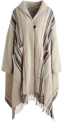 Woolrich Draped coat
