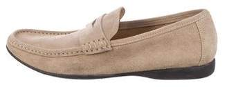 Bruno Magli Suede Dress Loafers