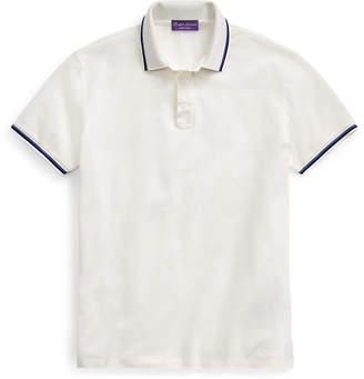 Ralph Lauren Custom Slim Fit Piqué Polo