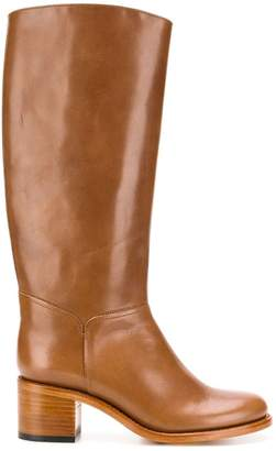 1bf273a38f64 A.P.C. classic knee-high boots