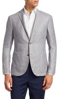 Corneliani Cashmere& Silk Modern-Fit Blazer