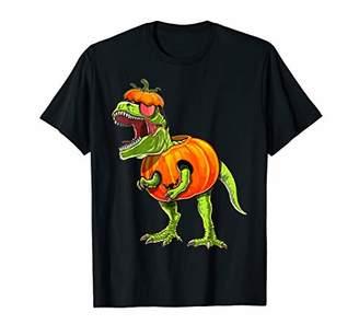 Halloween T Rex Dinosaur Shirts Halloween Pumpkin Shirt Boys T-Shirt