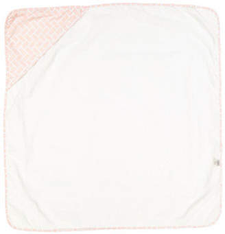 AMOR BEBE Geometric Hooded Towel
