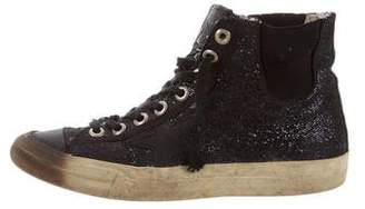 Golden Goose VStar1 High-Top Sneakers