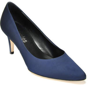 Footnotes Happy - Satin Mid Heel Pump