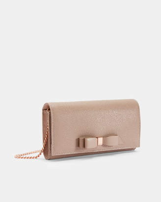 4c940d49c Ted Baker ALAINE Bow cross body leather matinee bag
