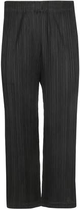 Pleats Please Issey Miyake Relaxed Palazzo Trousers