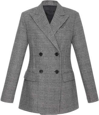 Nili Lotan Leander Plaid Wool Jacket