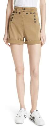 A.L.C. Pierce High Waist Sailor Shorts