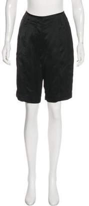Alexander Wang Mid-Rise Knee-Length Shorts w/ Tags