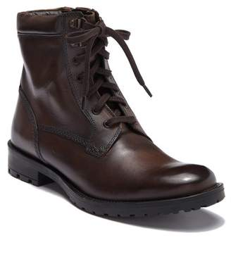 Giorgio Brutini Braxton Plain Toe Leather Lace-Up Boot